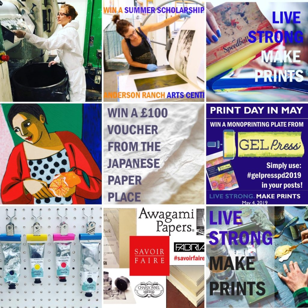 Print Day in May – An International Printmaking Event | Join us from